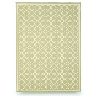 Shelbourne Sage Green Indoor/Outdoor Area Rug Rug Size: 5 x 7