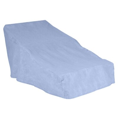 All-Seasons Outdoor Chaise Lounge Cover Color: Blue, Size: 36 H x 36 W x 86 D