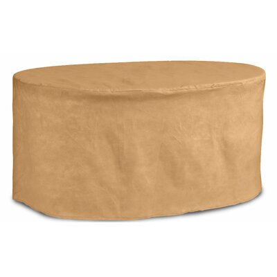 Chelsea Oval Patio Table Cover Size: 72 D