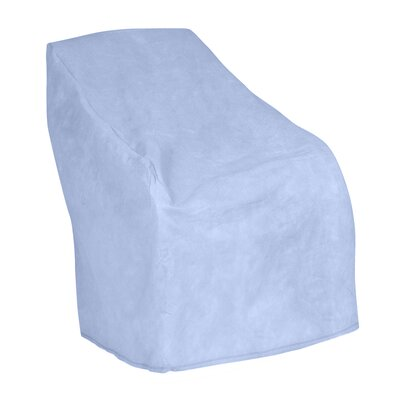 All-Seasons Outdoor Chair Cover Color: Blue, Size: 39 H x 37 W x 41 D