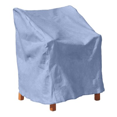 All-Seasons Outdoor Chair Cover Color: Blue, Size: 34 H x 36 W x 41 D