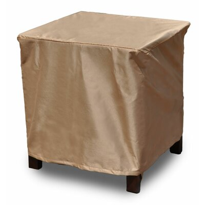 Chelsea Square Outdoor Side Table/Ottoman Cover Size: 16 H x 36 W x 36 D