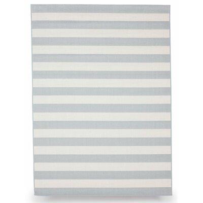 Naples Slate Gray Indoor/Outdoor Area Rug Rug Size: 5 x 7