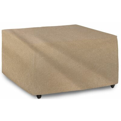 English Garden Square Patio Table Cover Size: 46 W x 46 D