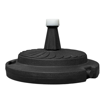 Resin Free-Standing Umbrella Base Color: Black