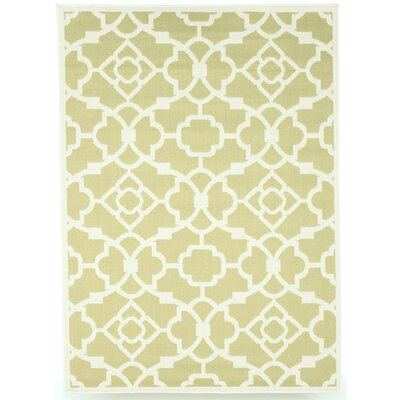 Monaco Sage Green Indoor/Outdoor Area Rug Rug Size: 8 x 10