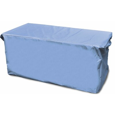 All-Seasons Outdoor Ottoman Cover Color: Blue