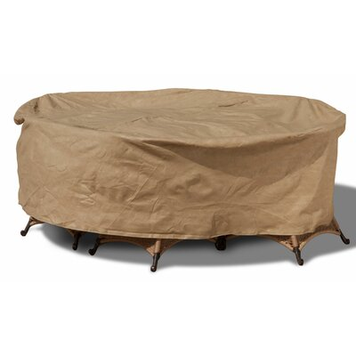 Chelsea Round Patio Table and Chairs Combo Cover Size: 100 W x 100 D
