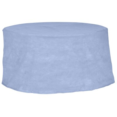 All-Seasons Round Patio Table Cover Color: Blue, Size: 72 W x 72 D
