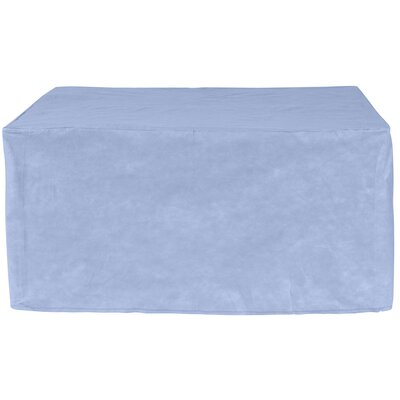 All-Seasons Square Patio Table Cover Color: Blue, Size: 58 W x 58 D