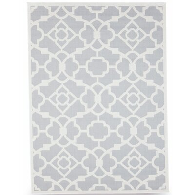 Monaco Slate Gray Indoor/Outdoor Area Rug Rug Size: 5 x 7