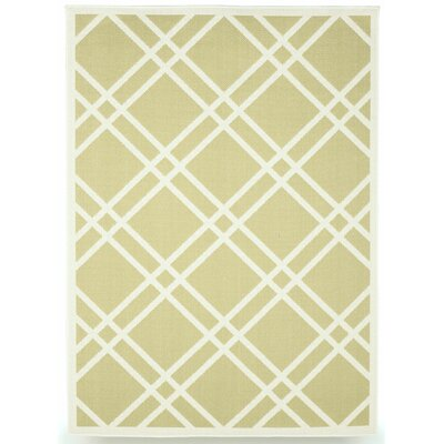 Maverick Sage Green Indoor/Outdoor Area Rug Rug Size: 5 x 7