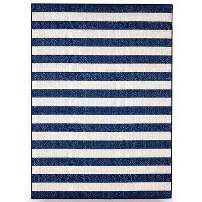 Naples Royal Blue Indoor/Outdoor Area Rug Rug Size: 8 x 10