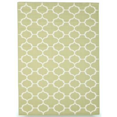 Winchester Sage Green Indoor/Outdoor Area Rug Rug Size: 5 x 7