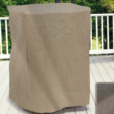 English Garden Square Outdoor Side Table/Ottoman Cover Size: 20