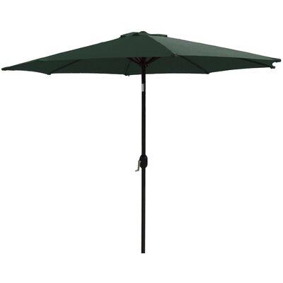 11 Market Umbrella Fabric: Hunter Green