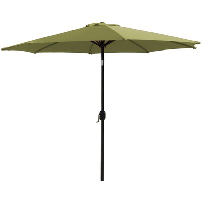 7 Market Umbrella Fabric: Lime Green