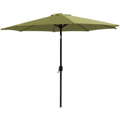 7 Market Umbrella Fabric: Lime Green