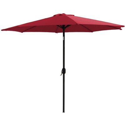 7 Market Umbrella Fabric: Red