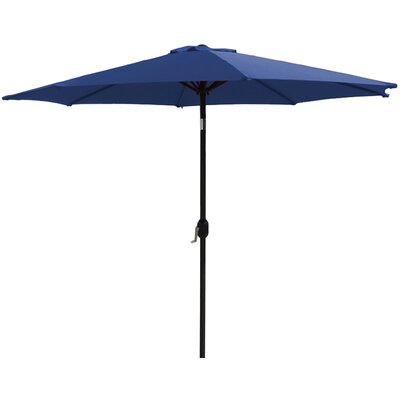 9 Market Umbrella Fabric: Navy