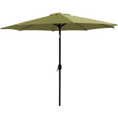 9 Market Umbrella Fabric: Lime Green