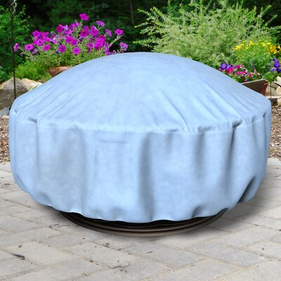 All-Seasons Fire Pit Cover Color: Blue