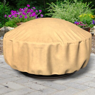 All-Seasons Fire Pit Cover Color: Tan