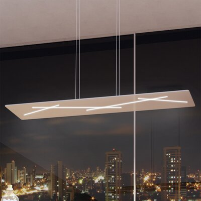 Castalia 1-Light LED Geometric Pendant