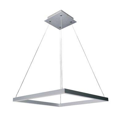 Armaz Square 2-Light LED Geometric Pendant