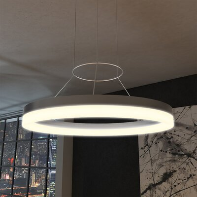 Chifdale Orbicular 2-Light LED Geometric Pendant
