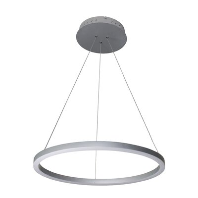 Chifdale Orbicular 1-Light LED Pendant