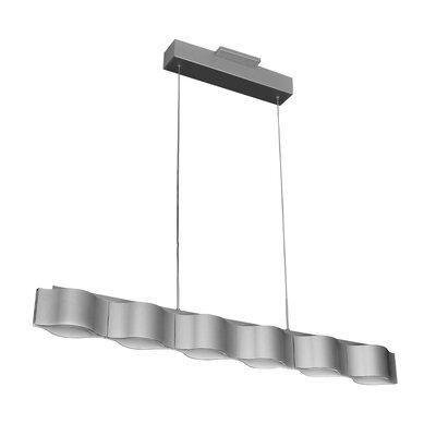Asellus Honeycomb 2-Light LED Kitchen Island Pendant