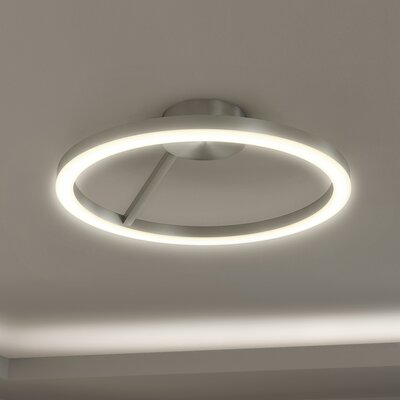 Roder 1-Light Semi-Flush Mount