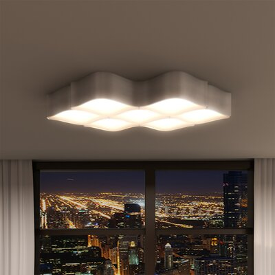 Casterton LED Hourglass Recessed Mount
