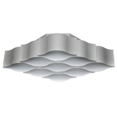 Asellus LED Diamond Flush Mount