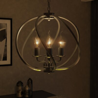 Sargas 4-Light Globe Pendant Finish: Architectural Bronze