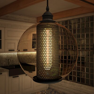 Delphinus 1-Light Globe Pendant