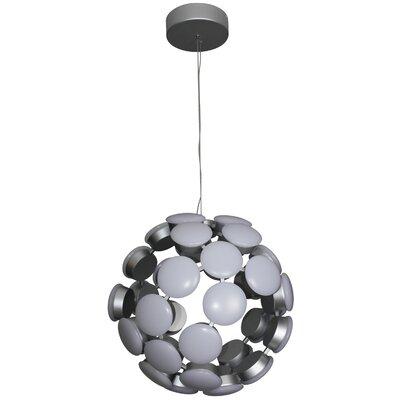 Kastra Globe Pendant Finish: Aluminium