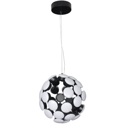 Kastra Globe Pendant Finish: Black