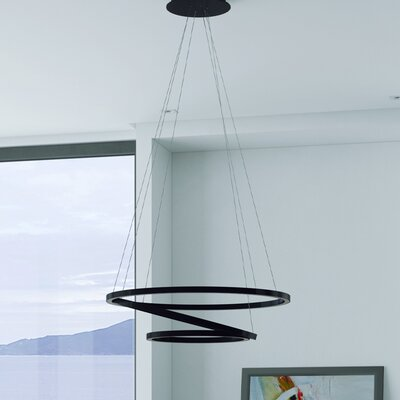 Chifdale Trio Pendant Finish: Black