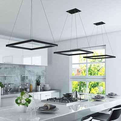 Armaz 1-Light Geometric Pendant