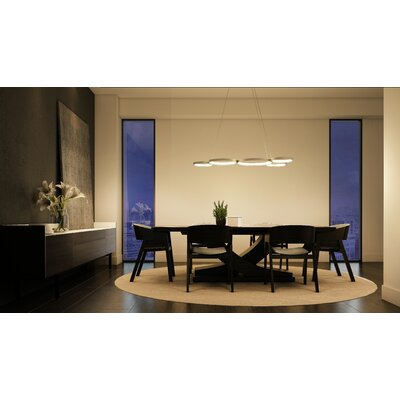 Doveton WiFi-Enabled Tunable 5-Light LED Cluster Pendant