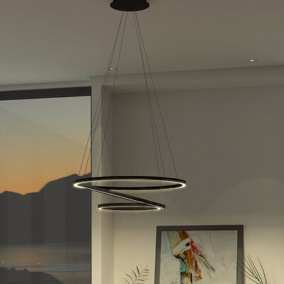 Rojas WiFi-Enabled Tunable 3-Light LED Pendant