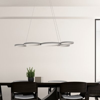 Capella WiFi-Enabled Tunable 5-Light LED Pendant