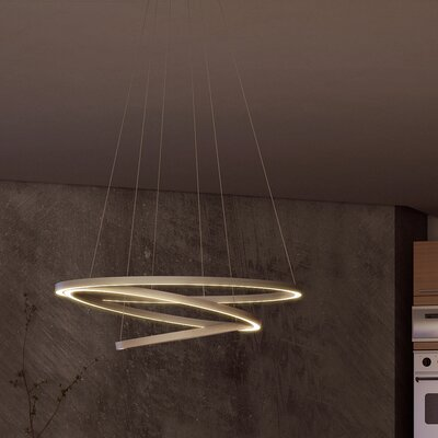 Tania Trio WiFi-Enabled Tunable 3-Light LED Geometric Pendant