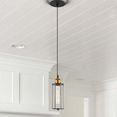 Galanti 1-Light LED Metal Mini Pendant