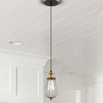 Galanti Rustic 1-Light LED Mini Pendant