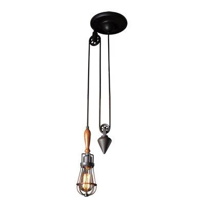 Galanti Rustic 1-Light LED Metal Mini Pendant