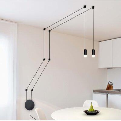 Quaoar Wall Fixture 2-Light LED Pendant