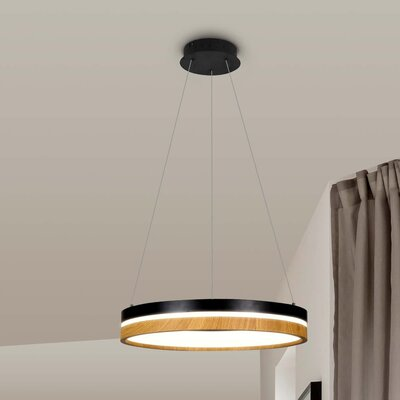 Pyxis 1-Light LED Drum Pendant